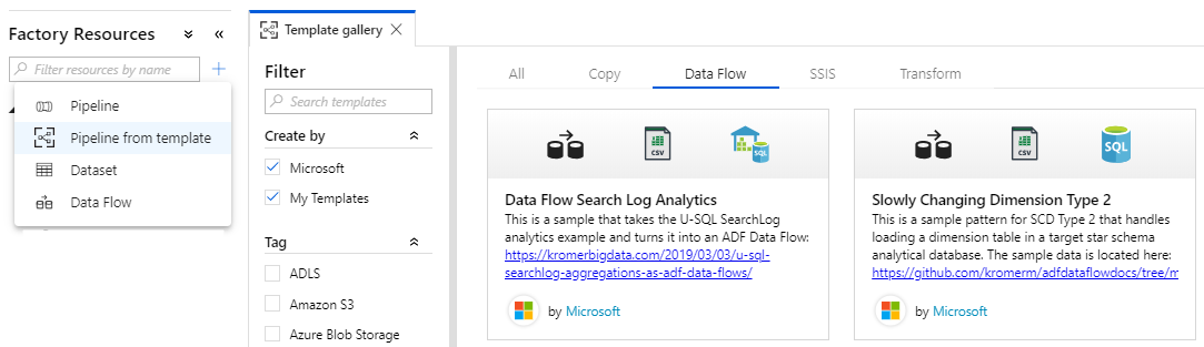 Mapping Data Flow in Azure Data Factory (v2) | SQLPlayer