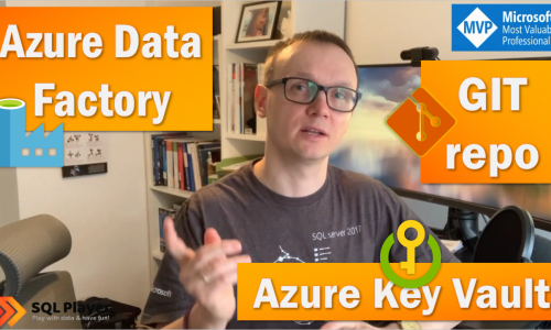 ADF and passwords with Azure Key Vault & set up GIT