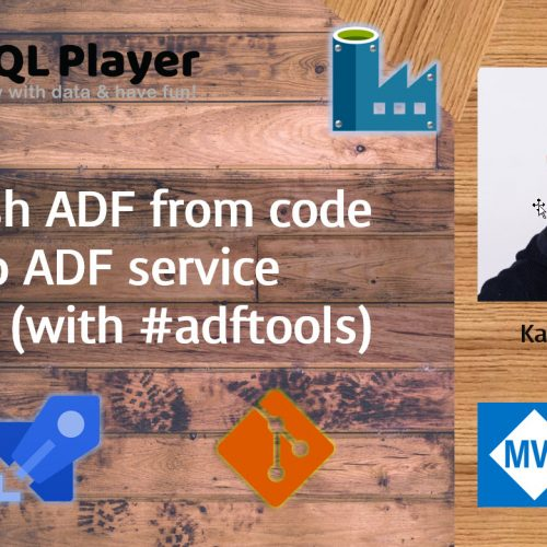 Publish ADF from code to service easily